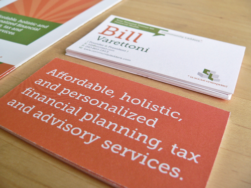 Brand Makeover and Marketing Materials for a Social Enterprise in the Personal Finance Space: Community Ladders