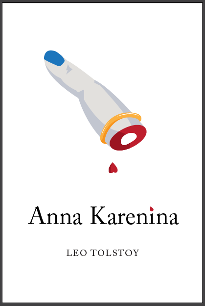 How I work: designing a cover for Tolstoy's Anna Karenina